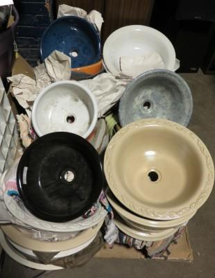 vasque lavabo en céramique