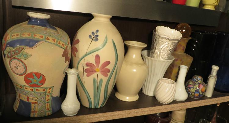 Potiches, pots de fleurs