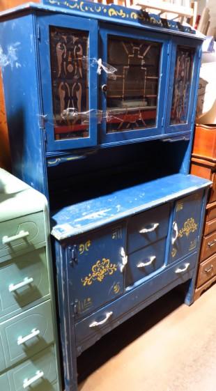 vaisselier bleu