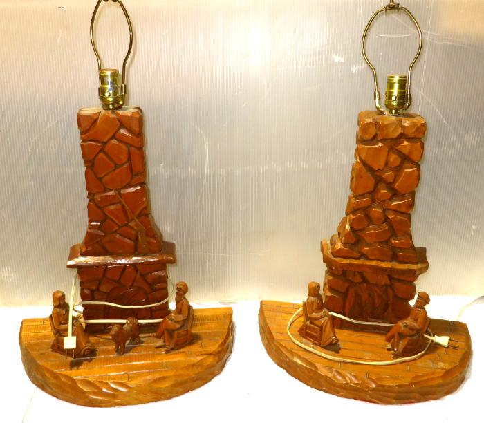 lampes sculptées