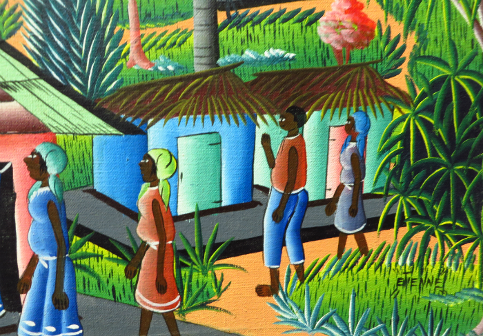 art haïtien