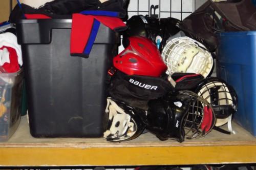 equipement de hockey