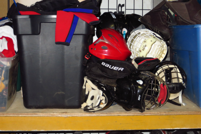 equipement de hockey