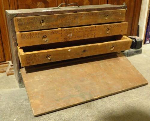 coffre à outils vintage
