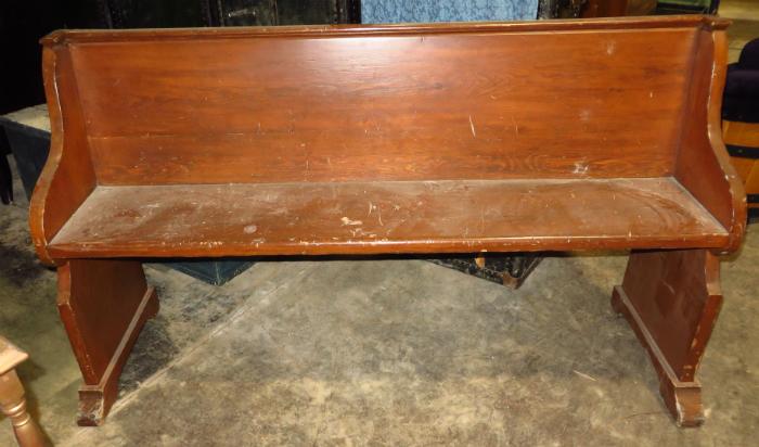 banc d'église