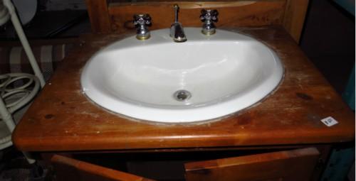 Vanité avec lavabo